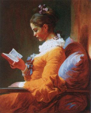 読書する娘